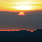 Colin Fletcher_Andreas M Cohrs_California hiking_Mojave Desert_sunset