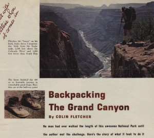 Backpacking Grand Canyon_FieldStream Mar64 pp