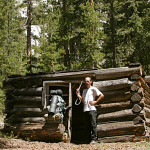 Colin Fletcher_Andreas M Cohrs_California hiking_Northern Sierra_Buckeye forks cabin