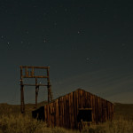 Colin Fletcher_Andreas M Cohrs_California hiking_Bodie hills night sky