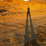 Colin Fletcher_Andreas M Cohrs_California hiking_Death Valley_Amargosa Mountain shadow at sunset