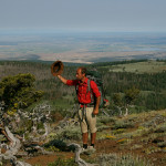 Colin Fletcher_Andreas M Cohrs_California hiking_Warner Mountains_Greeting  Cedar