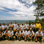 Colin Fletcher_Andreas M Cohrs_California hiking_Lake Tahoe Donner Pass_firefighters