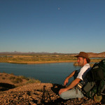 Colin Fletcher_Andreas M Cohrs_California hiking_Colorado River Lake Ferguson