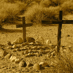 Colin Fletcher_Andreas M Cohrs_California hiking_Mojave Desert_Goffs cemetery