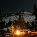 Colin Fletcher_Andreas M Cohrs_California hiking_High Sierra Nevada_campfire