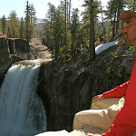 Colin Fletcher_Andreas M Cohrs_California hiking_High Sierra Nevada_Rainbow falls