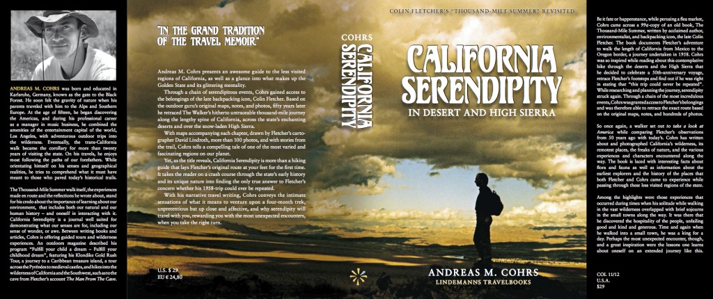 Jacket_Colin Fletcher The Thousand Mile Summer_California Serendipity_L