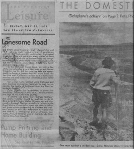 Lonesome Road_SFchronicle May58 with CF notes