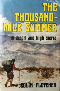 American West vintage books_Colin Fletcher books_The Thousand-Mile Summer