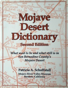 American West vintage books_Mojave Desert Dictionary_Schoffstall