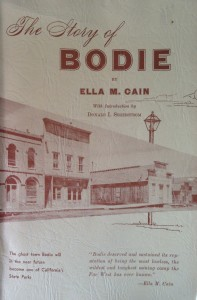 American West vintage books_Ella M. Cain_The story of Bodie