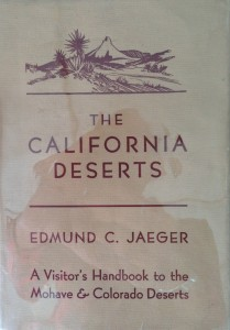 American West vintage books_Edmund C. Jaeger_The California deserts