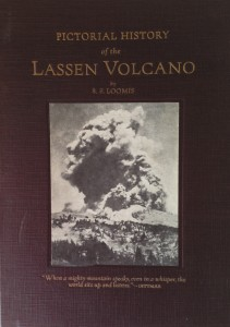 American West vintage books_Loomis_Pictorial history of the Lassen Volcano