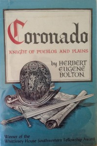 American West vintage books_Herbert Eugene Bolton_Coronado Knight of pueblos and plains