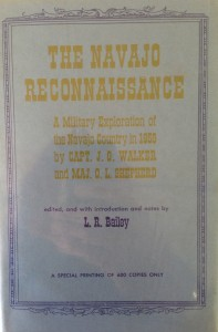 American West vintage books_L.R. Bailey_The Navajo Reconnaissance